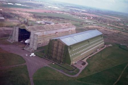 Sheds One and Two at Cardington Airfield, UK.